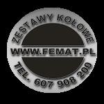 Femat- koła przemtsłowe zestawy kołowe, kółka kołnierzowe