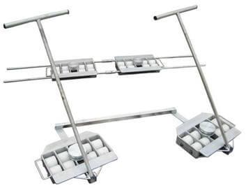 Wózki do przewozu ciężkich maszyn